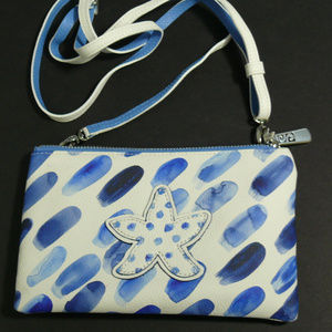 Brighton Blue Water Crossbody Handbag NWT #E51956